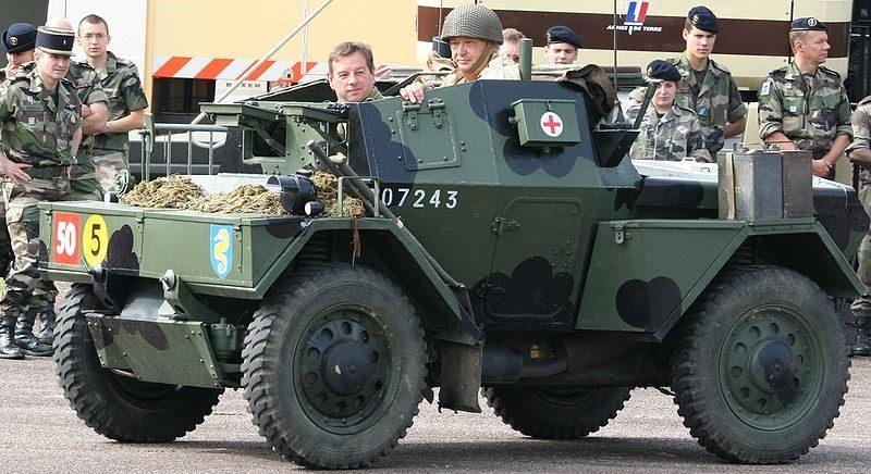 Легкий бронеавтомобиль Daimler Dingo. Mk-III
