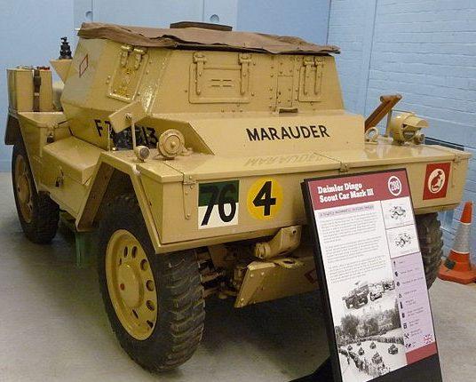 Легкий бронеавтомобиль Daimler Dingo. Mk-II