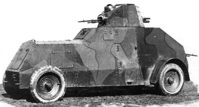 Легкий бронеавтомобиль Wz.29