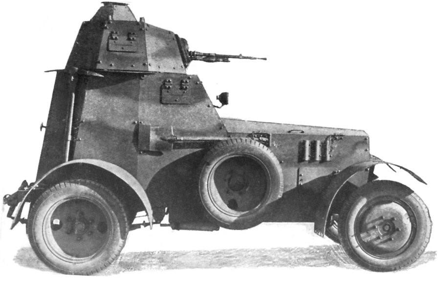 Легкий бронеавтомобиль Wz.34