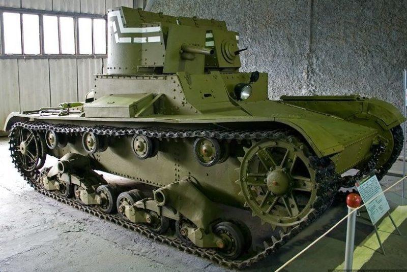 Легкий плавающий танк Т-40