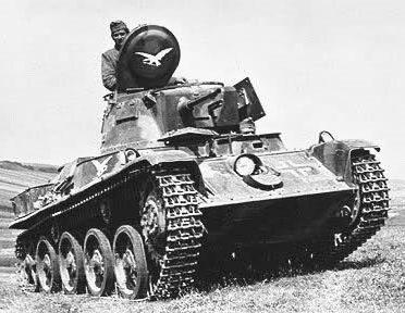 Легкий танк 38-M Toldi с 40-мм пушкой
