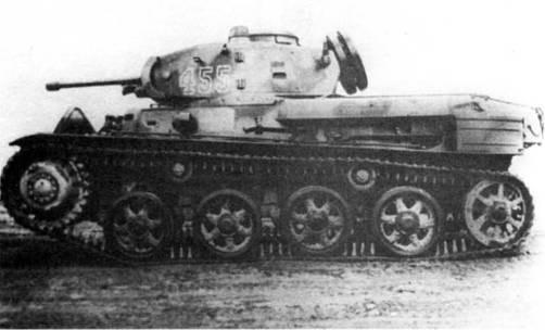 легкий танк L60 S/III (Strv m/40L).