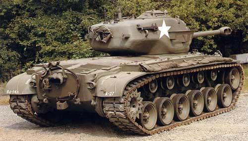 Тяжелый танк М-26 «Pershing».