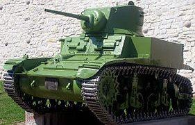 Легкий танк M-3 «Stuart» M-3A1