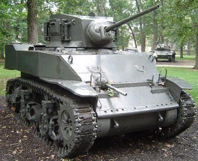 легкий танк «Stuart» M-3A3
