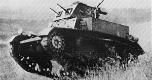 Легкий танк M1 Combat Car (с 1940 г. Light Tank M1).