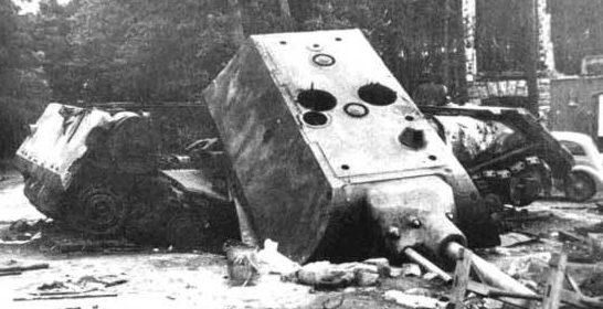 Сверхтяжелый танк Panzerkampfwagen «Maus»