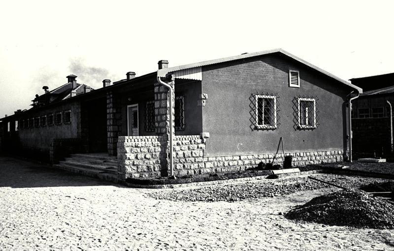 Здание борделя в концлагере Маутхаузен.