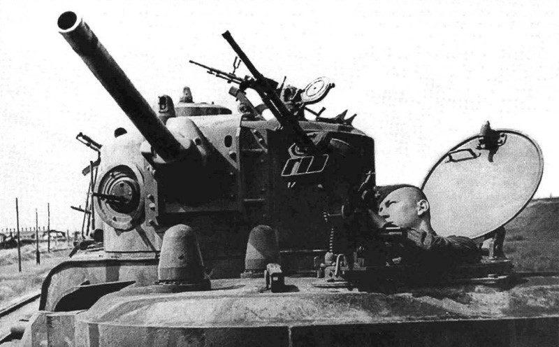 Зенитное вооружение мотоброневагона МБВ №02