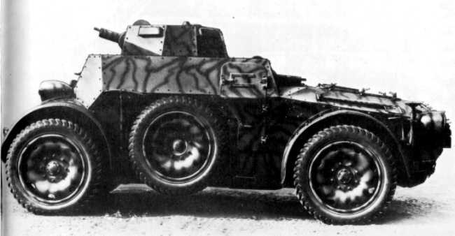 Средний бронеавтомобиль Autoblinda AB-40