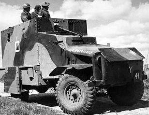 Средний бронеавтомобиль Bedford OXA