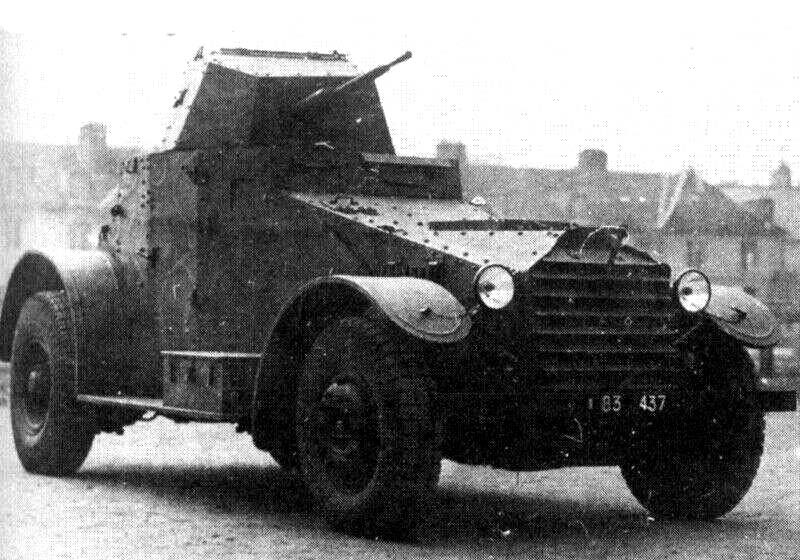 Средний бронеавтомобиль Laffly 80 AM
