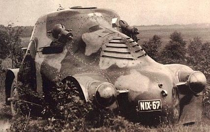 Средний бронеавтомобиль PA-II Zelva