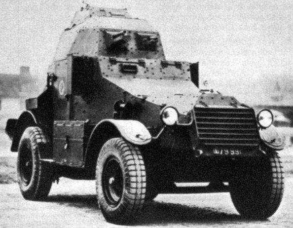 Средний бронеавтомобиль Panhard AMD-165/175