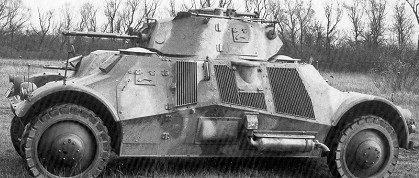 Средний бронеавтомобиль Pbil m/39 Lynx