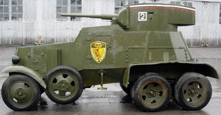 Средний бронеавтомобиль БА-3