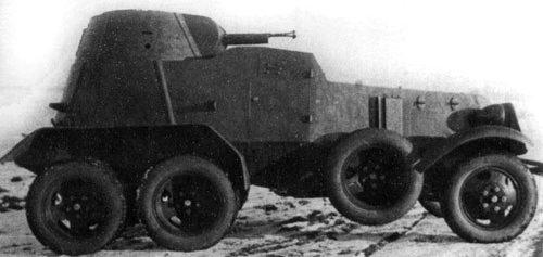 средний бронеавтомобиль БА-9