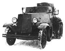 Средний бронеавтомобиль БА-И
