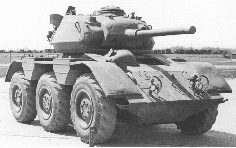 Средний бронеавтомобиль M-38 Wolfhound