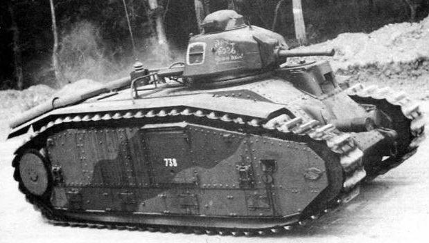 Средний танк B-1 bis