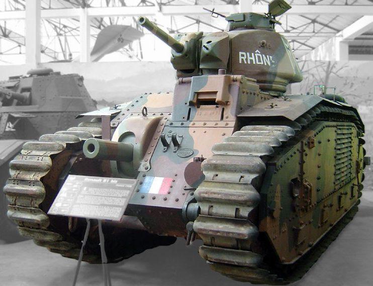 средний танк B-1