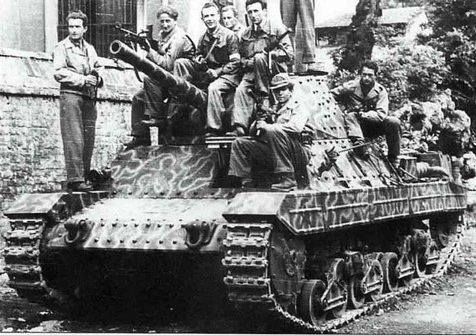 Средний танк Carro Armato Pesante P-26/40