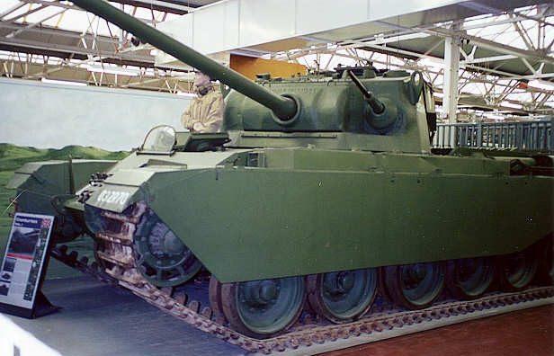 Средний танк Centurion Mk-1