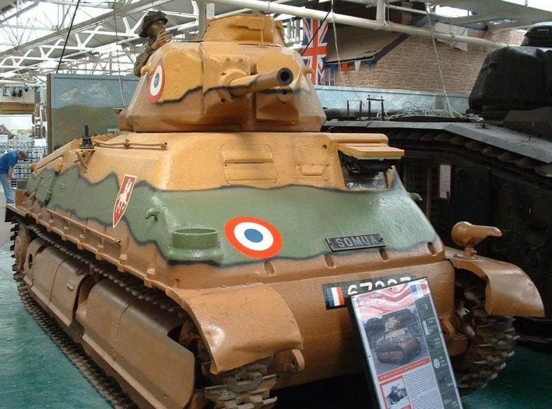Средний танк Char de Cavalerie 1935 S ( S-35, Somua S-35)