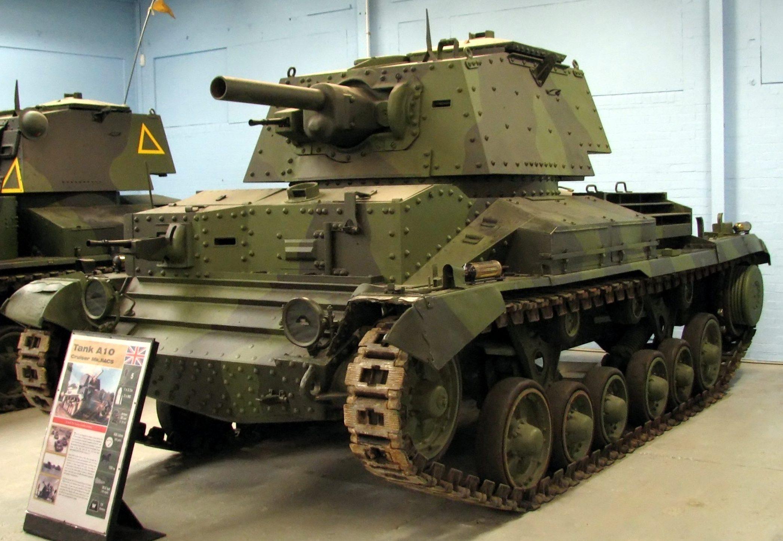 средний танк Cruiser Mk-I