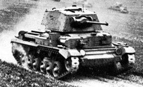 Средний танк Cruiser Mk-II