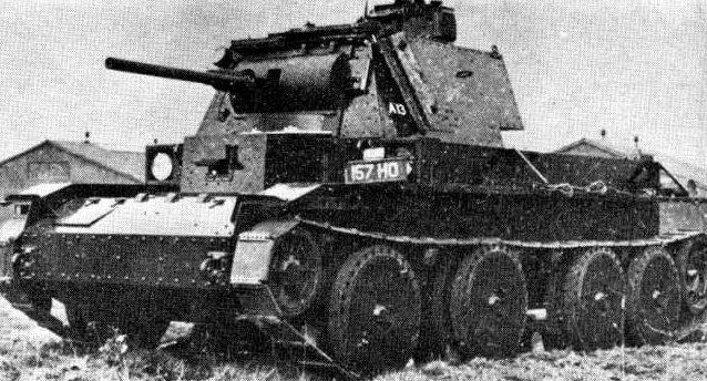 Средний танк Cruiser Mk-III.