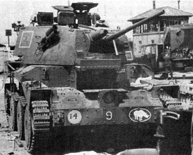 Средний танк Cruiser Mk-III