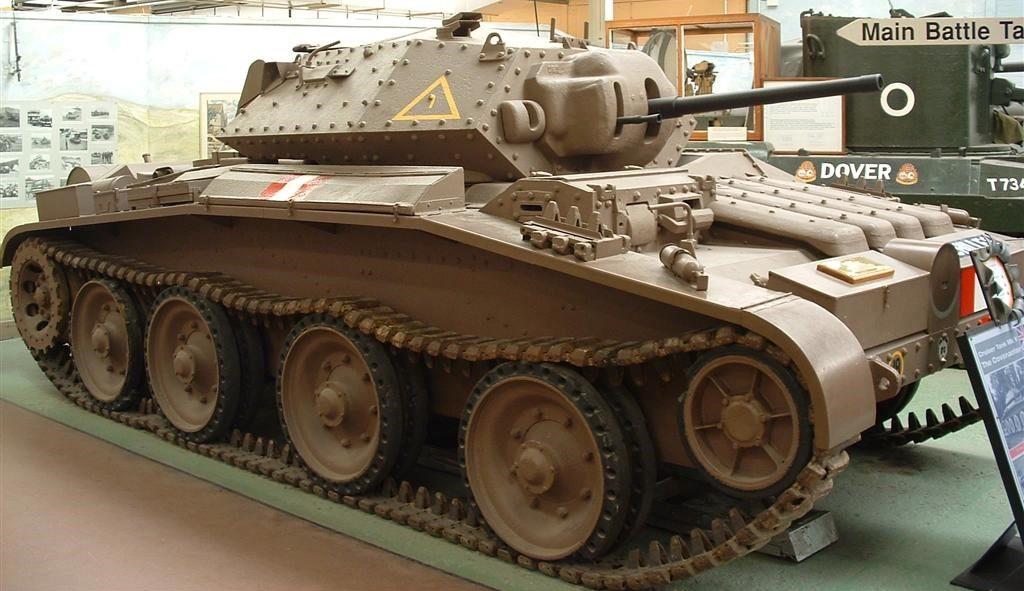 Средний танк Cruiser Mk-V Covenanter