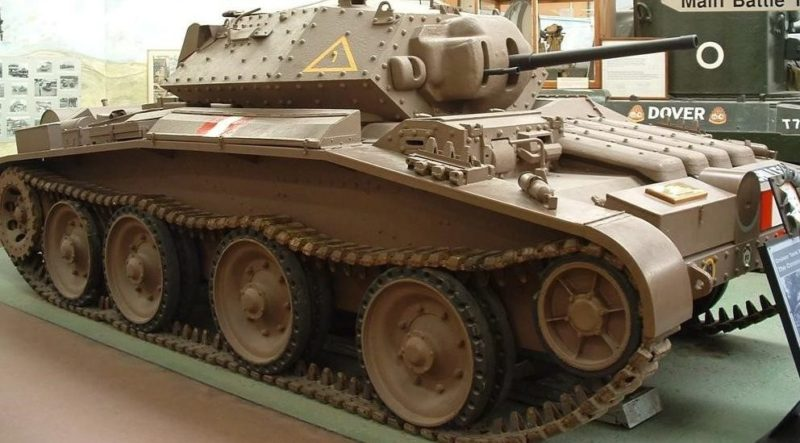 Средний танк Cruiser Mk-V Covenanter