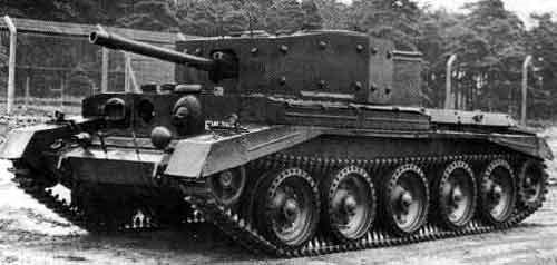 Средний танк Cruiser Mk-VII Cavalier