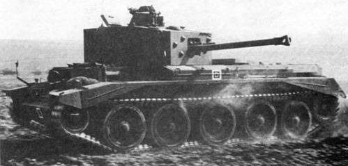 средний танк Cruiser Mk-VIII Cromwell-V
