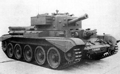 Средний танк Cruiser Mk-VIII Cromwell-VI