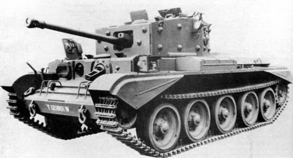 Средний танк Cruiser Mk-VIII Cromwell-VII