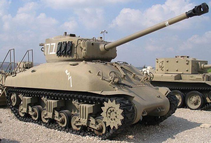 Средний танк M-4A1 с 76-мм орудием