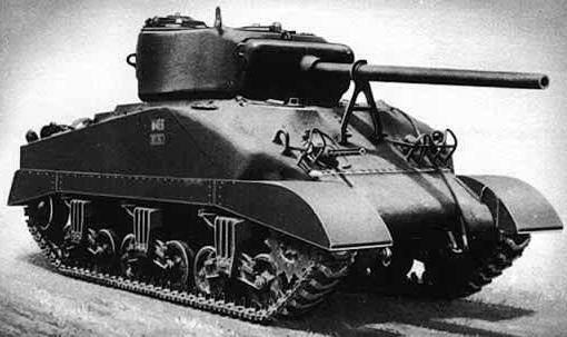Средний танк M-4A1
