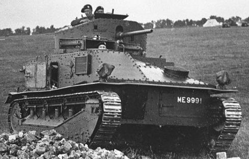 Средний танк Medium Mk-II.