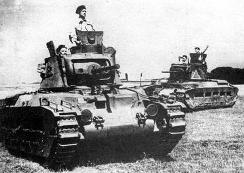 Средний танк Mk-II Matilda-II