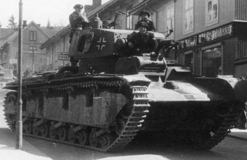 Средний танк Neubaufahrzeug (Nb.Fz.)