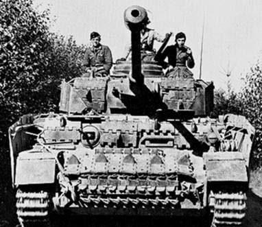 Средний танк Pz-IVAusf.H
