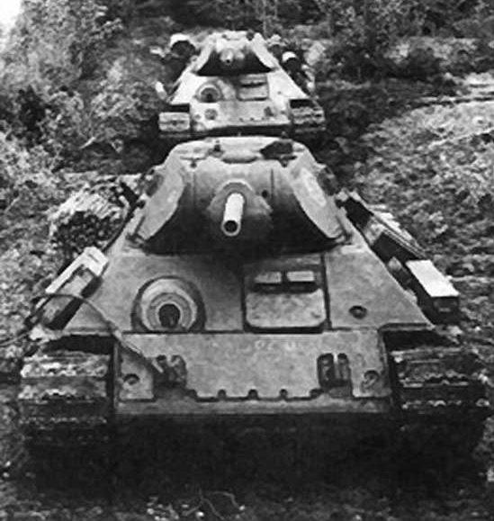 Т-34 образца 1942 г. с дополнительным бронированием