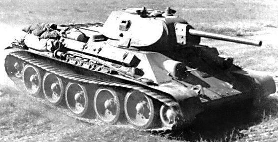 Т-34 с 57-мм пушкой ЗИС-4