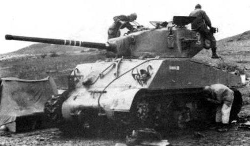 Средний танк М-4А3