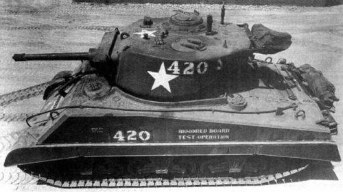 Средний танк М-4АЗЕ2