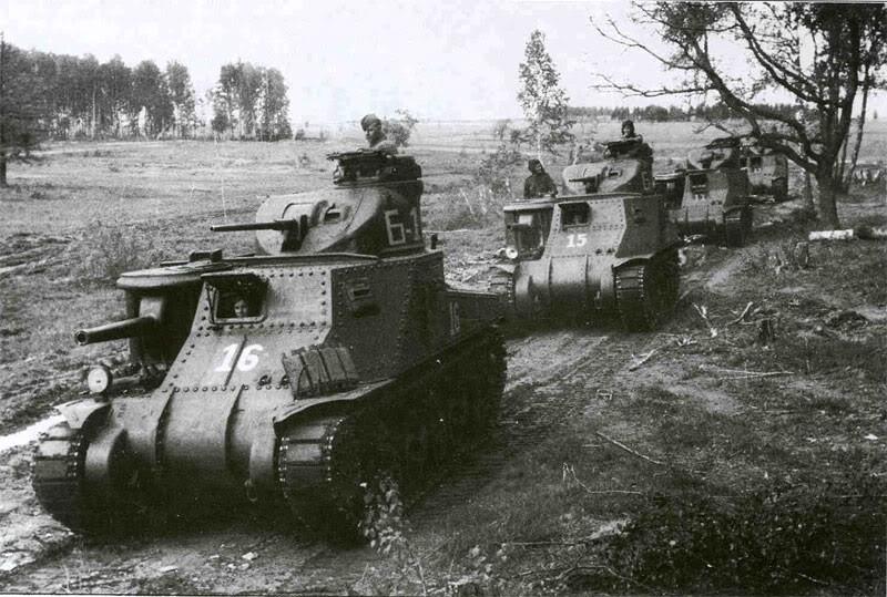 Средний танк М-3С